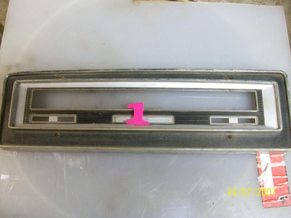 69 71 Instrument Bezel 171 1961 1971 Dodge Sweptline Parts