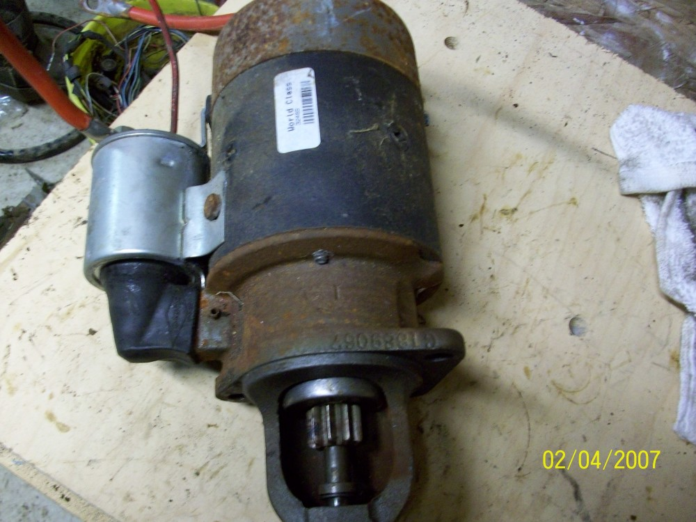 61 68 Starter 318 Or Slant 6 With Manual Trans 171 1961 1971