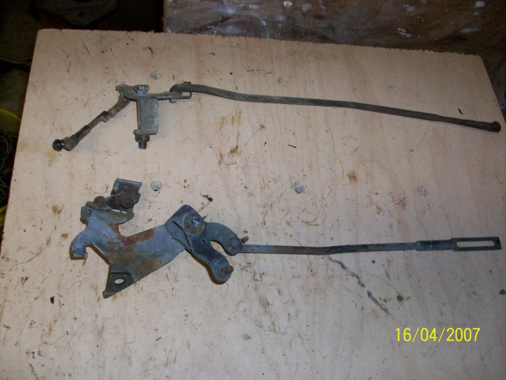 big block  kickdown linkage   dodge sweptline parts