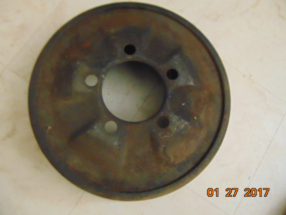 57 64 D100 Rear Drum Nos 171 1961 1971 Dodge Sweptline Parts